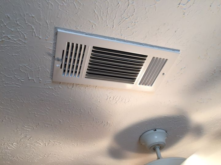 Supply Vent in House